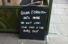 'We ain't Lion' — one Dublin restaurant is still on the BOD bandwagon