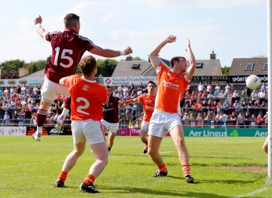 Danny Cummins scores Galway's opening goal