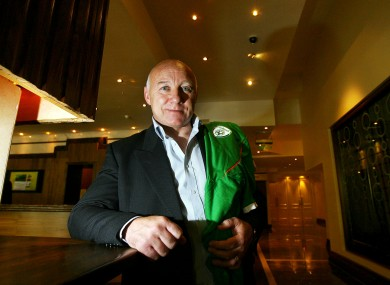 Former Republic of Ireland international, Dave Langan. File picture.