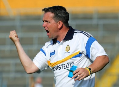 Clare boss Davy Fitzgerald.