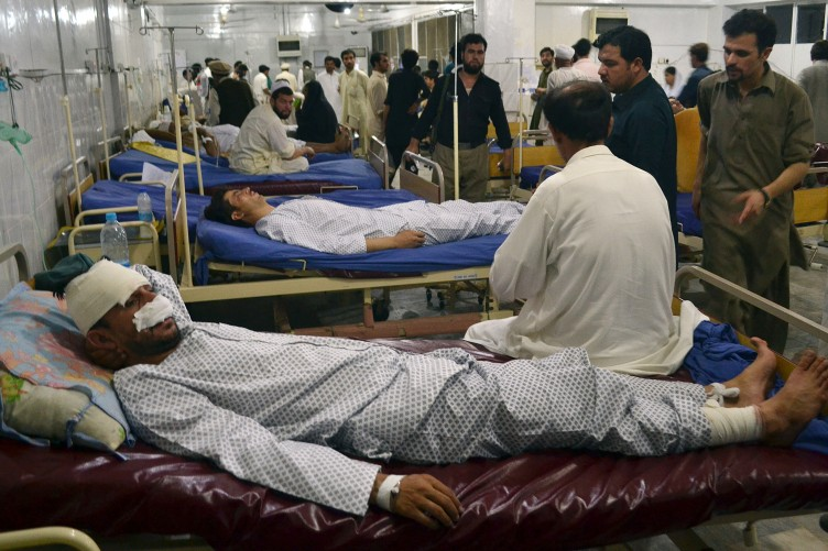 Terror Deaths in Pakistan Death Toll in Pakistan Twin