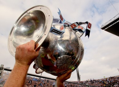 The Sam Maguire Cup.