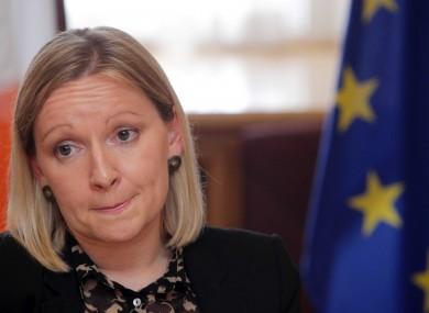 Minister of State Lucinda Creighton