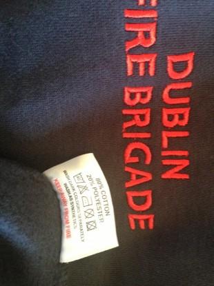 New Dublin Fire Brigade clothing