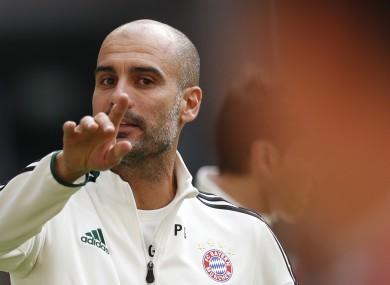 FC Bayern Munich head coach Pep