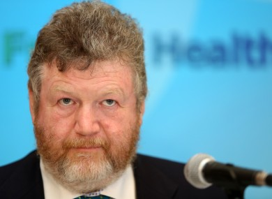 Health Minister James Reilly
