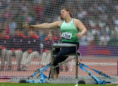 Barry has brought Ireland's medal tally to five (file photo).