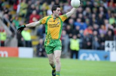 McHugh ruled out for Donegal due to perforated eardrum and concussion