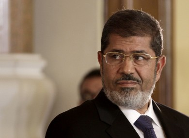 File image of Egyptian President Mohammed Morsi.