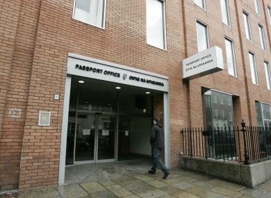 The Passport Office on Molesworth Streeti n Dublin