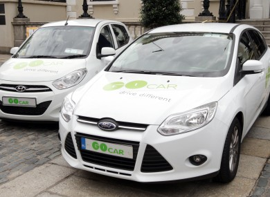 Consumers can hire 50 GoCar vehicles by the hour from 31 pay-and-display locations in Dublin.