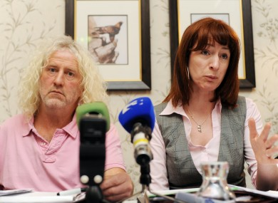 Mick Wallace and Clare Daly