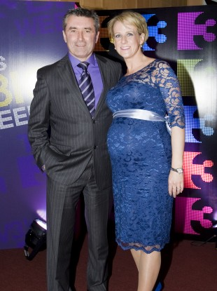 Martin King and Sybil at the 2012 schedule launch