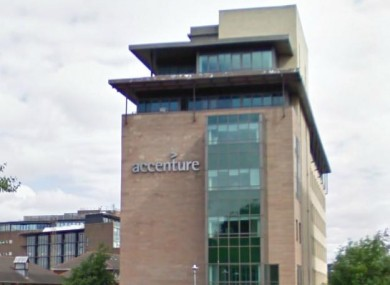 Accenture's offices on Grand Canal Street