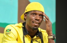 Usain Bolt and team-mates tested at training camp