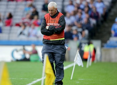 Cork boss Conor Counihan after last night's game.