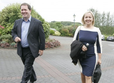 Senator Paul Bradford and his wife Lucinda Creighton are two of the ex-Fine Gael politicians who are seeking speaking rights.