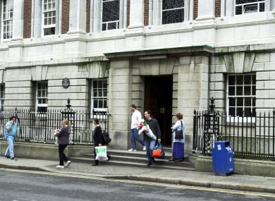 The National Maternity Hospital at Holles Street.