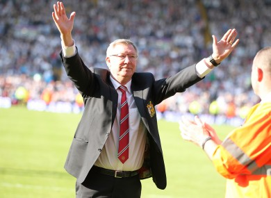 Alex Ferguson retired as manager of Man United last May, following years of success with the club.