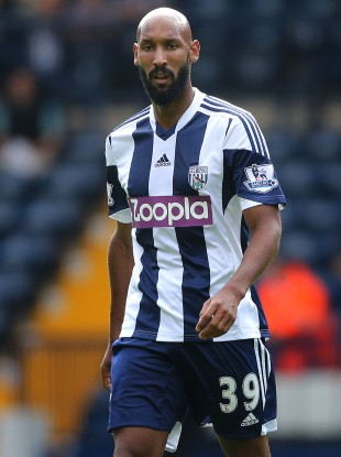 West Brom striker Nicolas Anelka has been excused from duty for Saturday's Premier League game.