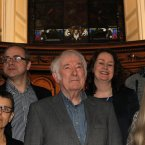Earlier this year, Heaney celebrated literature in translation in an evening of readings of his work with six of his long standing translators.<span class=