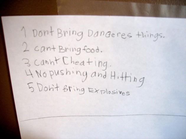 School Rules
