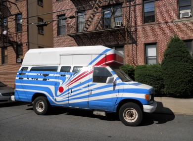 File photo of a van; not the van in question.