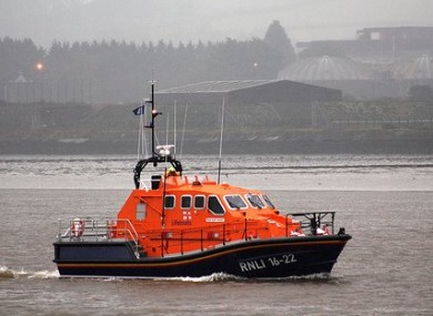 The all-weather lifeboat Alan Massey.