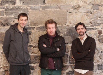 Andrew Flaherty, Kevin Barry and Tom Rowley