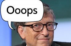 Bill Gates says CTRL-ALT-DELETE was a mistake