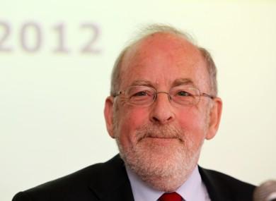 Irish Central Bank governor Patrick Honohan.