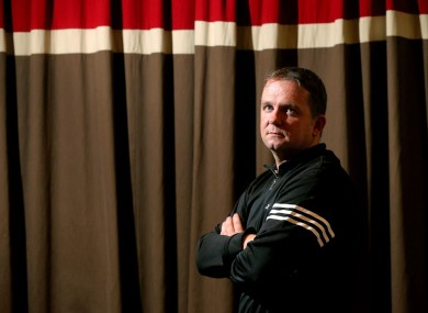 Clare manager Davy Fitzgerald at the Banner's press night.