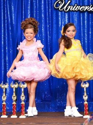 Naked young girls beauty pageant