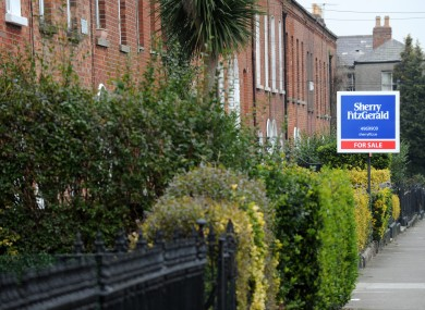 First-time buyers have begun buying says Trinity College economist Ronan Lyons.