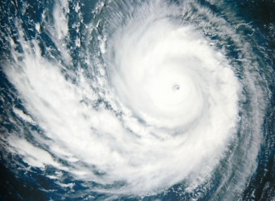 File photo: hurricane