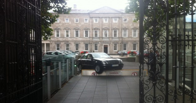 Mercedes-Bent: Stranded at the gates of Leinster House