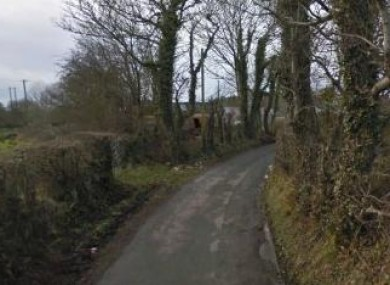 The Newtown Road at Ardfarn, Donegal.