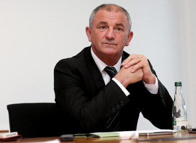 Main man: Ireland's caretaker manager Noel King.