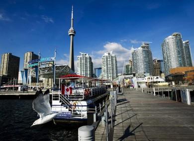 Toronto's Harbour Front.