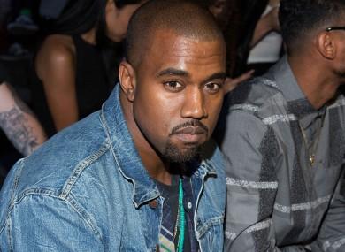 Kanye, plotting revenge.