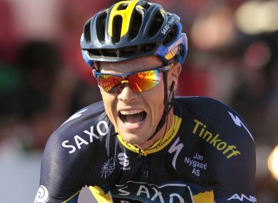 Nicolas Roche is fifth overall with two stages remaining.