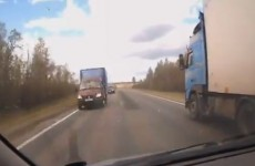 WATCH: Crazy compilation of close-calls with trucks
