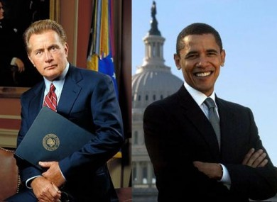 Jed Bartlet and Barack Obama... life imitating art?