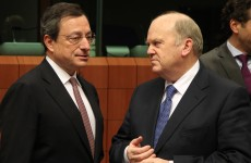 When Michael met Mario: Noonan in Frankfurt for bailout exit talks with ECB chief