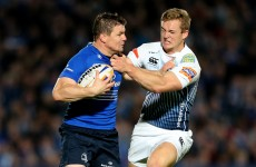 Brian O'Driscoll won't be back for Leinster against Castres