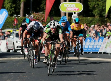 Bennett: biggest win of his career to date came at the Tour of Britain.