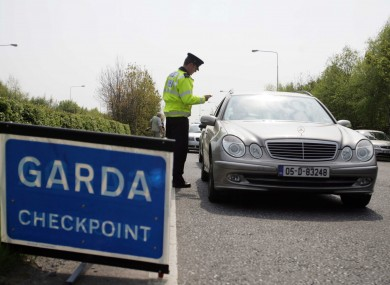 Garda checkpoints are being proposed as part of a crackdown on welfare fraud.