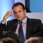 Transport Minister Leo Varadkar looking glum <span class=