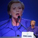 Children's Minister Frances Fitzgerald addresses delegates <span class=
