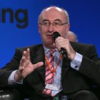 Environment Minister Phil Hogan speaks to delegates on political reform <span class=